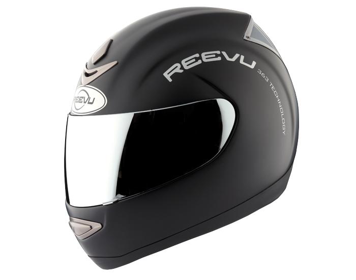 Msx1 Rear View Full Face Helmet Matte Black Motorcycle Helmets Helmet Motorcycle Helmet Design
