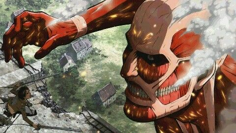 Attack On Titan Eren Vs Colossal Titan Wallpaper Attack On Titan Season Attack On Titan Attack On Titan Season 2