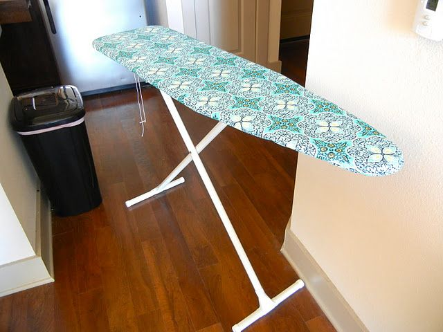 Ironing board tutorial ... So desperately needed!