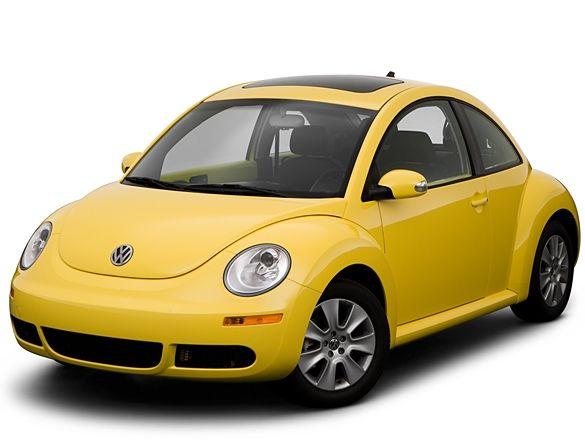 Yellow Beetle Volkswagen Escarabajos Escarabajo