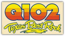 Q102 - Popular Dallas album rock station in the 70s & 80s