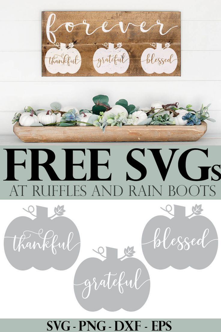 Use this Farmhouse Pumpkin SVG Set to Make All the Best Fall Decor