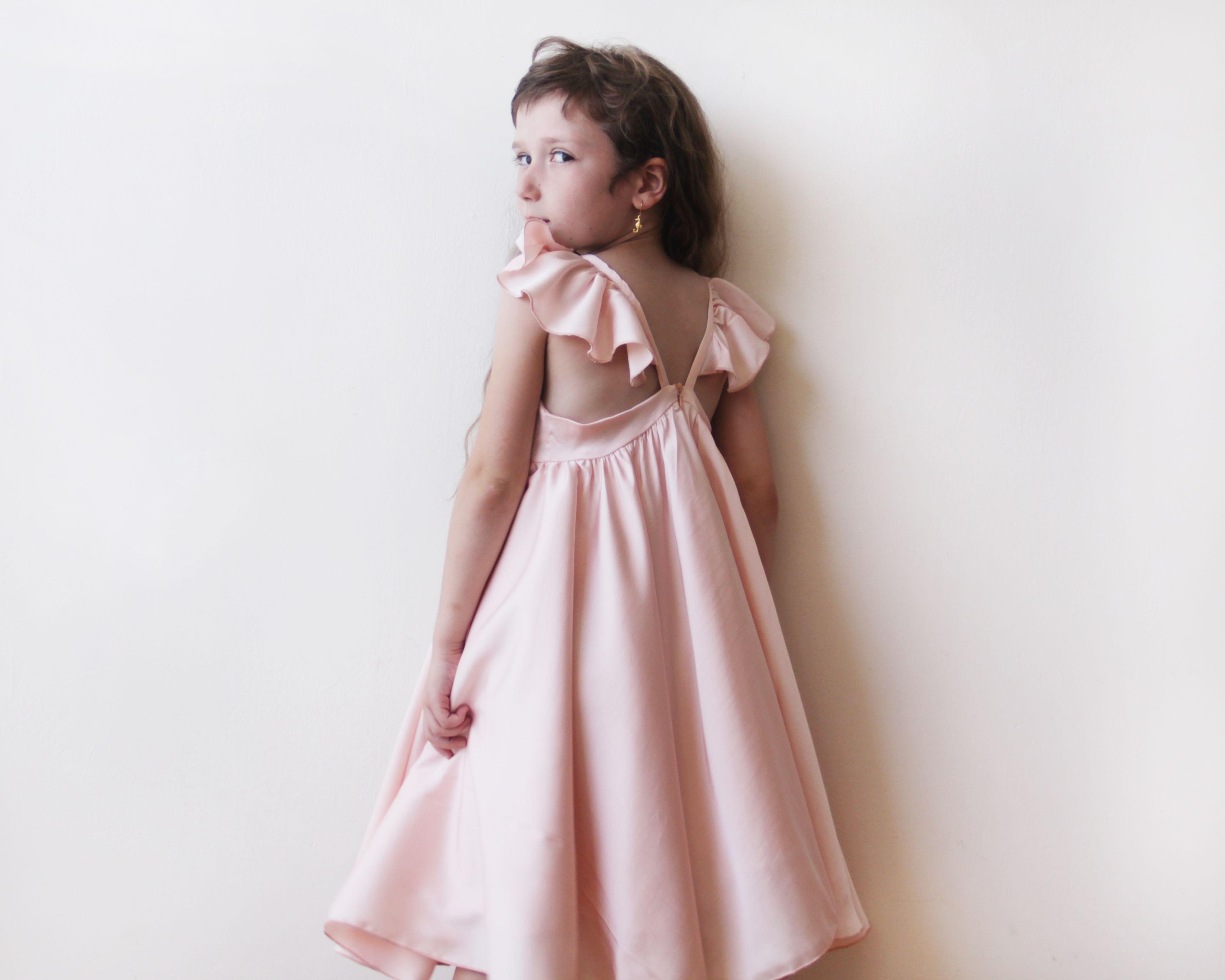 Pink Girls Dress By Blushfashion Cara Expressions Pinterest