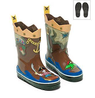 Kidorable™ Boys' Pirate Rain Boots