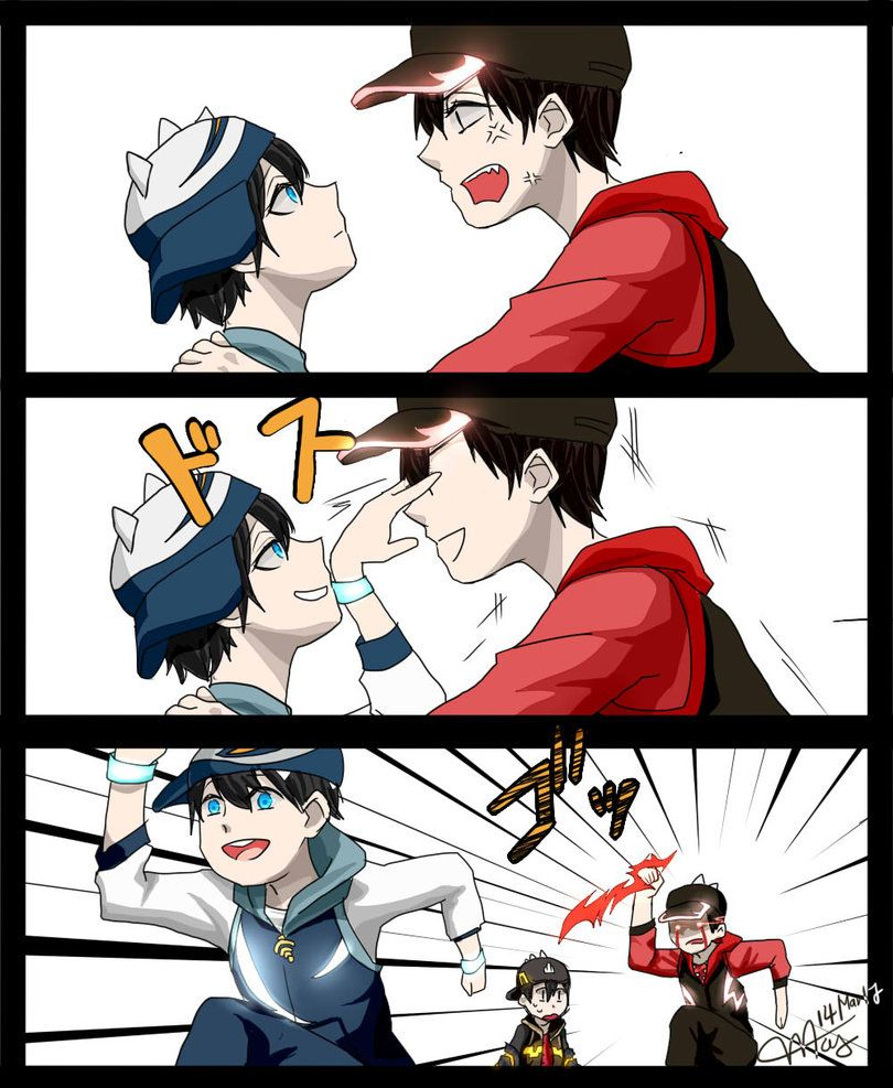 Boboiboy by on DeviantArt