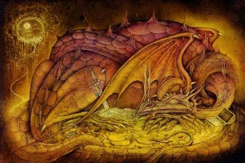 In Norse mythology Lindworms were serpentlike dragons with either two or no legsThe World Serpent Jörmungandr is depicted as a giant snake with attributes of a dragon The poem Völuspá states the being Níðhöggr is a dragon  Smaug a large dragon as one of its antagonists