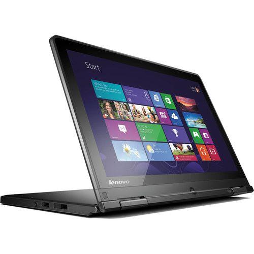 "Lenovo ThinkPad Yoga 20CD00CHUS 12.5"" Multi-Touch Ultrabook Computer (Black)"