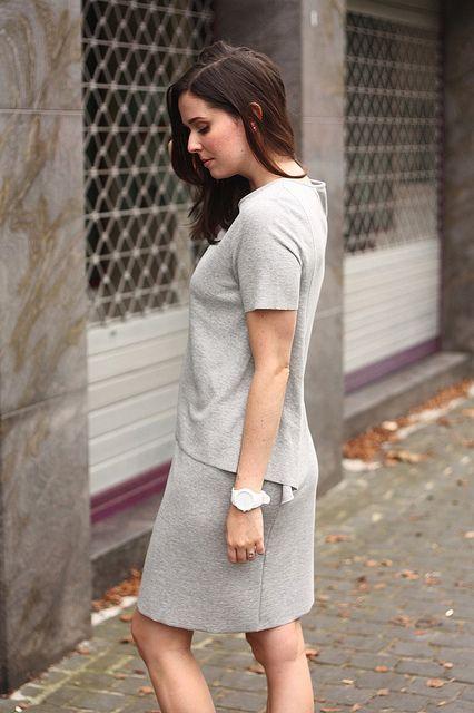 COS Dress and Nike Air Max