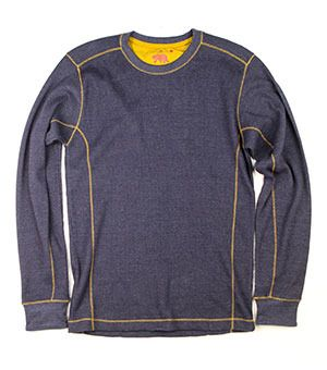 Trapper Waffle Knit (Navy)
