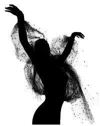 Resultado de imagen para siluetas de bailarines de contemporaneo