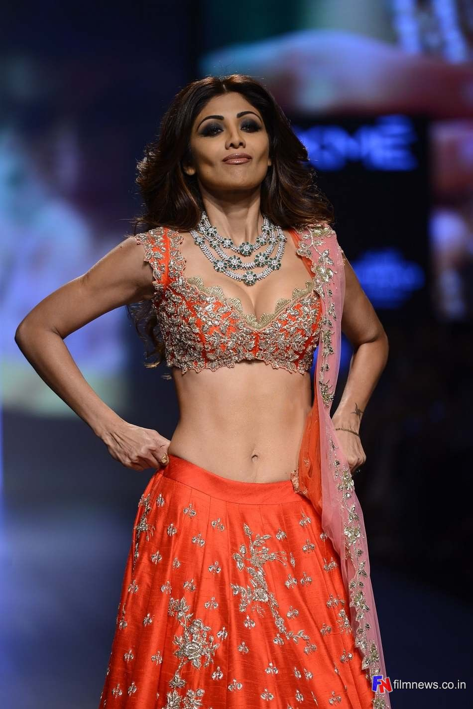Shilpa Shetty at Lakme Fashion Week … | Bollywood Beauty ...