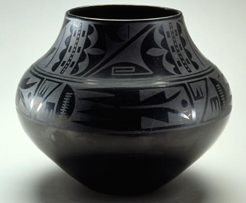 Maria Martinez And Julian Martinez Black On Black Ceramic