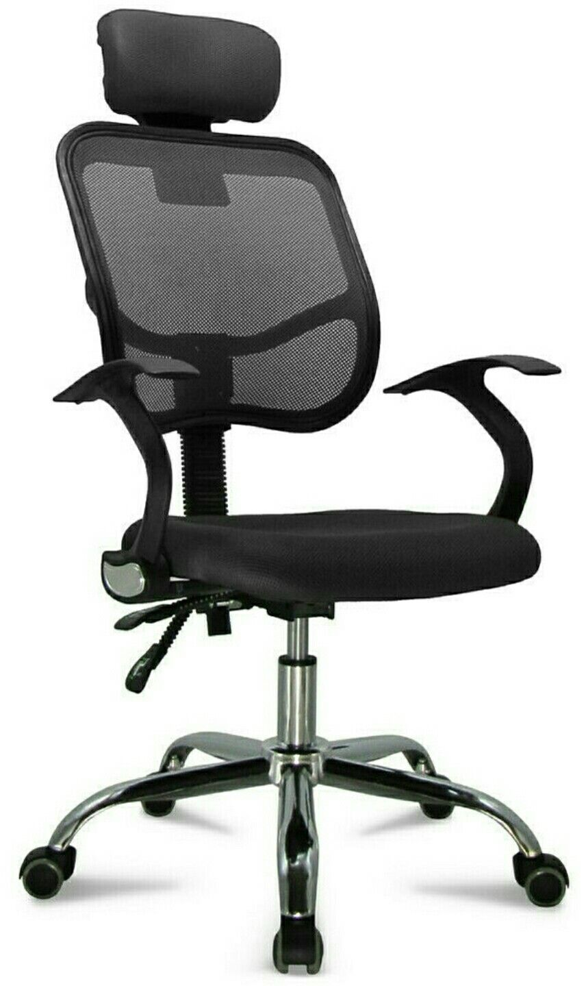 Details About Ergonomic Mesh Office Chair Adjustable Swivel
