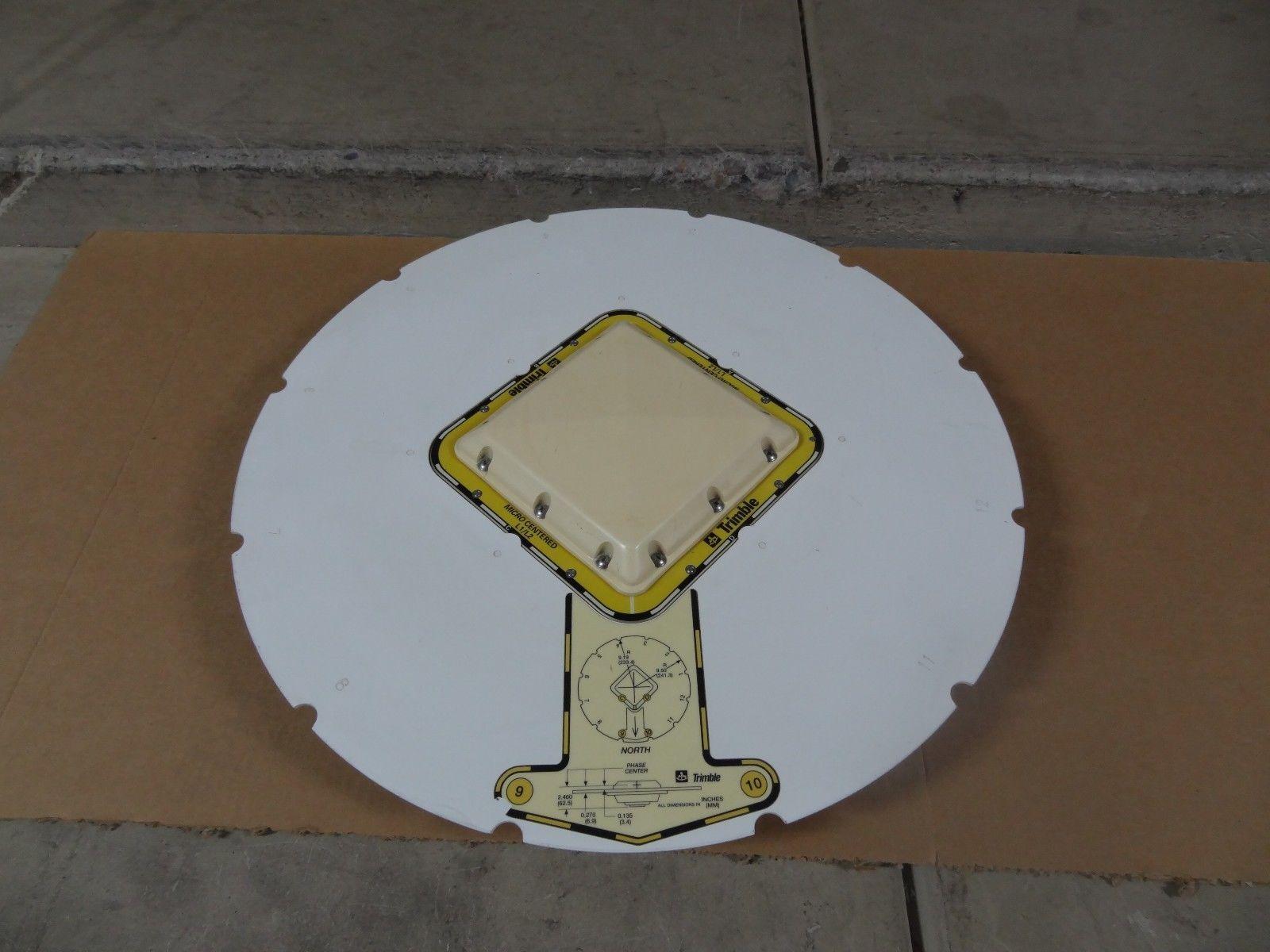 Trimble Micro Centered Geodetic L1/L2 GPS Antenna W Ground