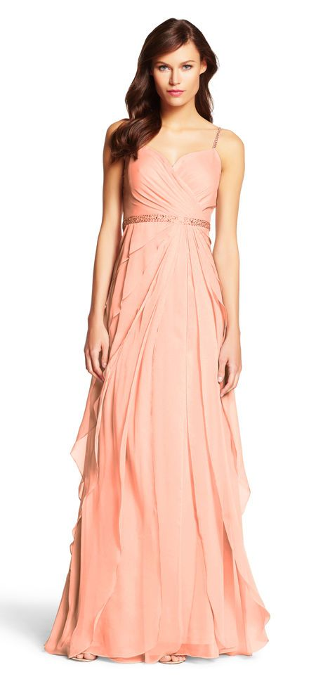 Adrianna Papell | Chiffon Flutter Gown