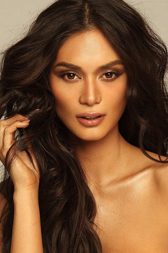 Pia Wurtzbach Glamorous Wedding Makeup Pia Wurtzbach Wedding Makeup