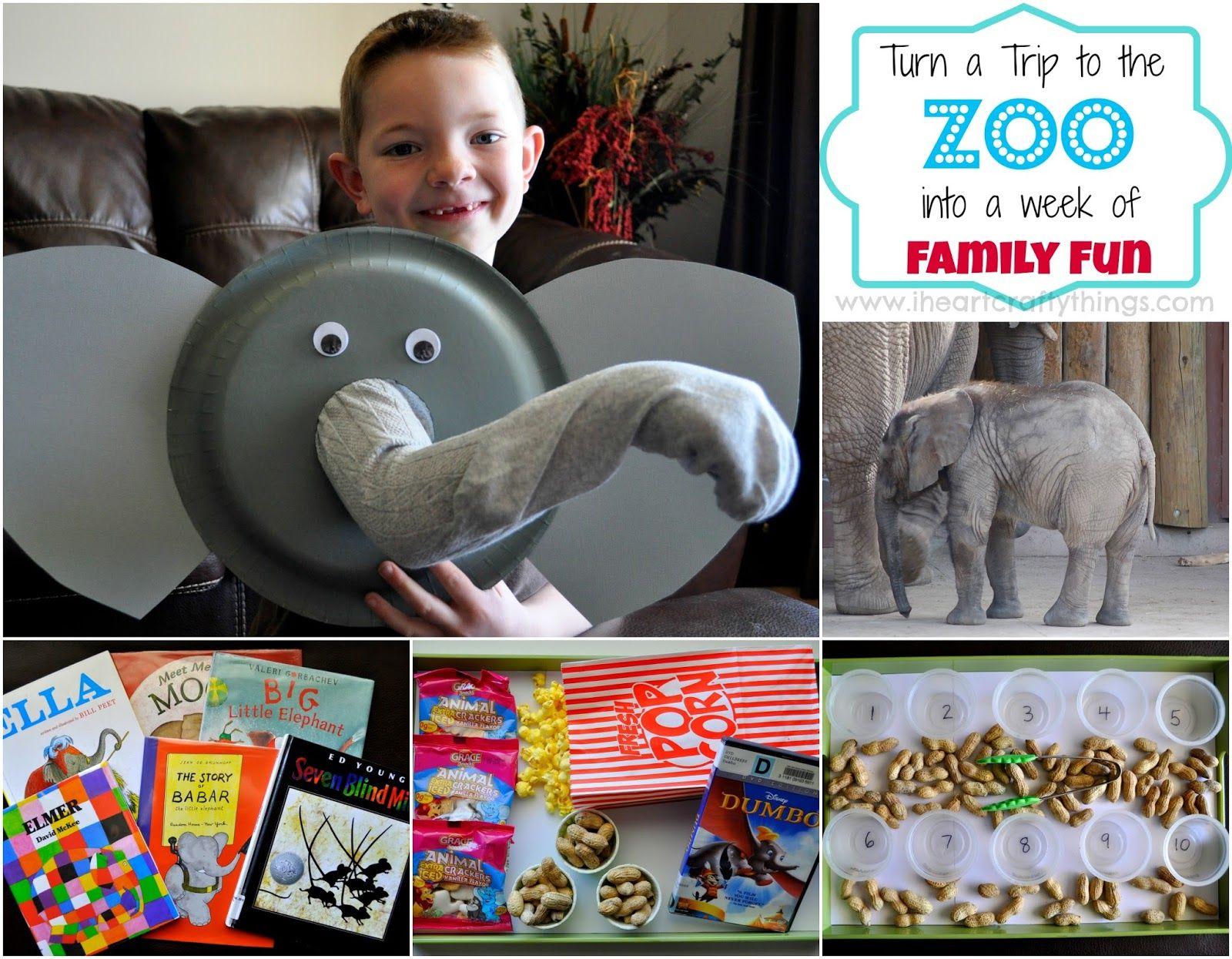 Paper Plate Elephant Puppet Craft