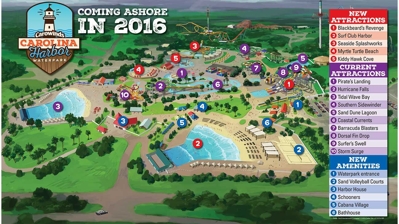 News Capsule Carowinds announced yesterday plans to expand and