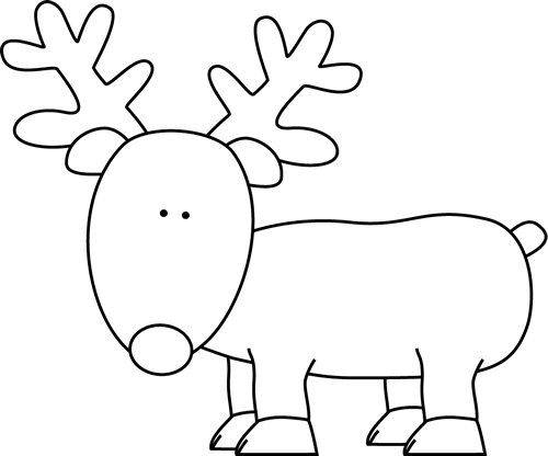 Black And White Reindeer Clip Art Black And White Reindeer Image Christmas Coloring Sheets Christmas Coloring Pages Printable Christmas Coloring Pages