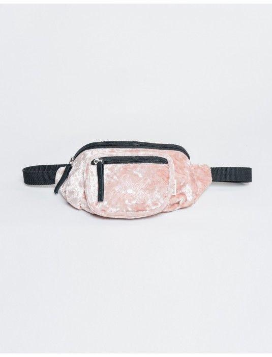 Riñonera terciopelo rosa palo  39f0b83eb2180