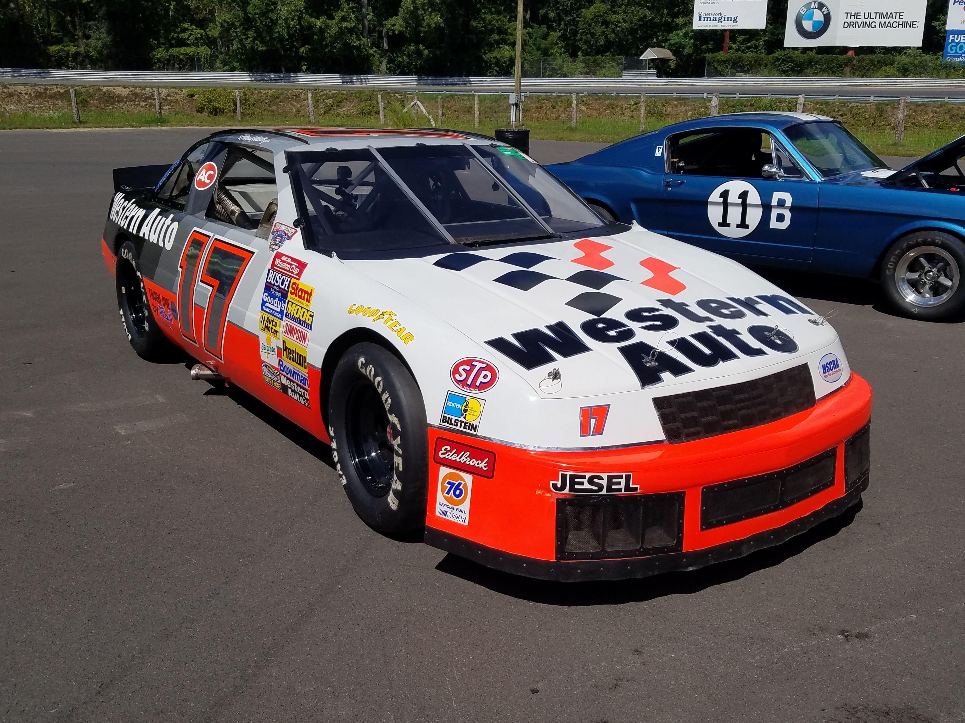 1991 Waltrip Lumina vintage NASCAR at Lime Rock Park (summer 2016 ...