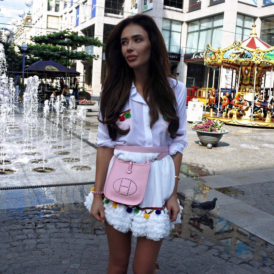 Mini Hermes Evelyne Bag