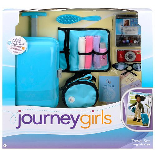 My Life Doll Clothes Journey Girls Travel Set Blue