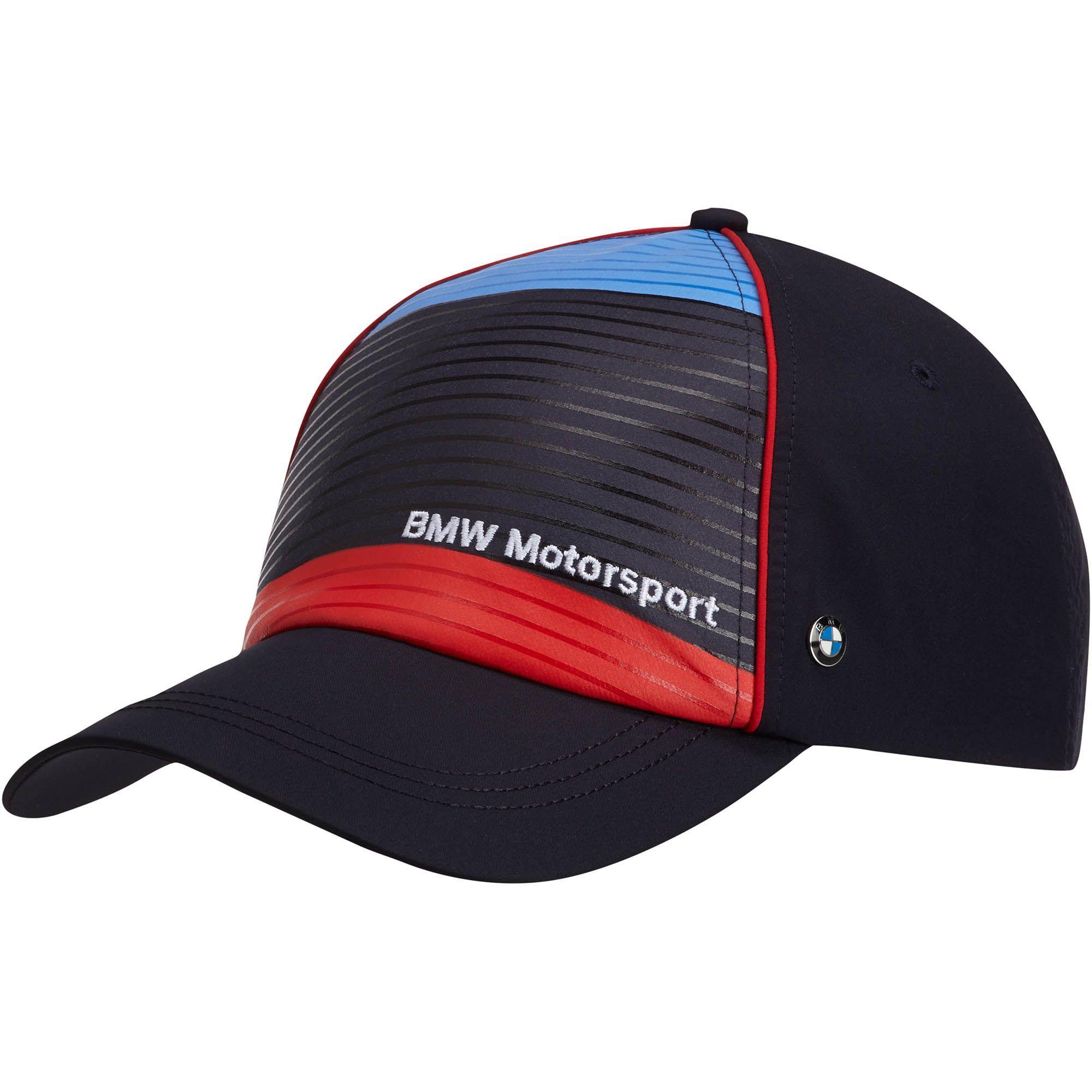 black p bmw logo cap m sport