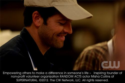 Empowering others to make a difference in someone's life - Inspiring founder of non-profit volunteer organization RANDOM ACTS, actor Misha Collins