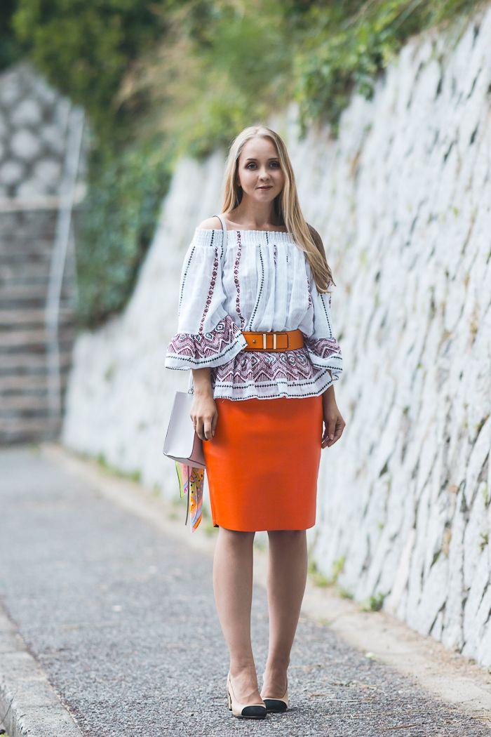 8238cf5cfbb Olga Choi fashion blogger South Korea myblondegal Ольга Цой Choies leather  skirt Choies two toned shoes Rebecca Minkoff bag Eleganzza scarf Glamorous  off ...