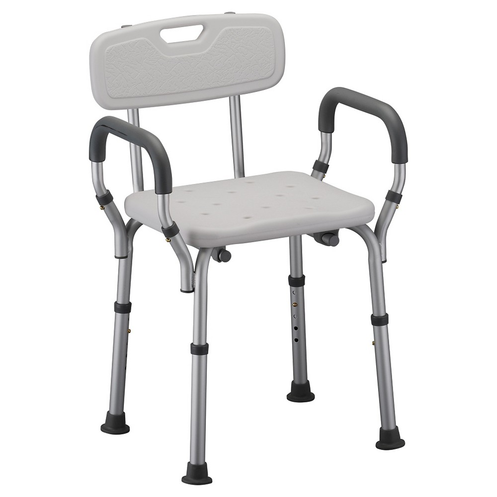 Nova Bath Seat With Back And Arms White In 2019 Accessible