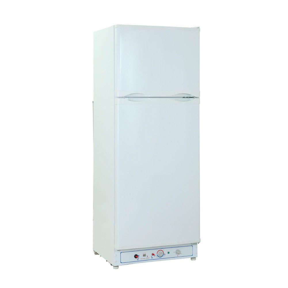Smad 10 0 Cu Ft Lpg Refrigerator Propane Gas Freezer Rv Camping Cabin Holiday Gas Refrigerators Gas And Electric Refrigerator Freezer