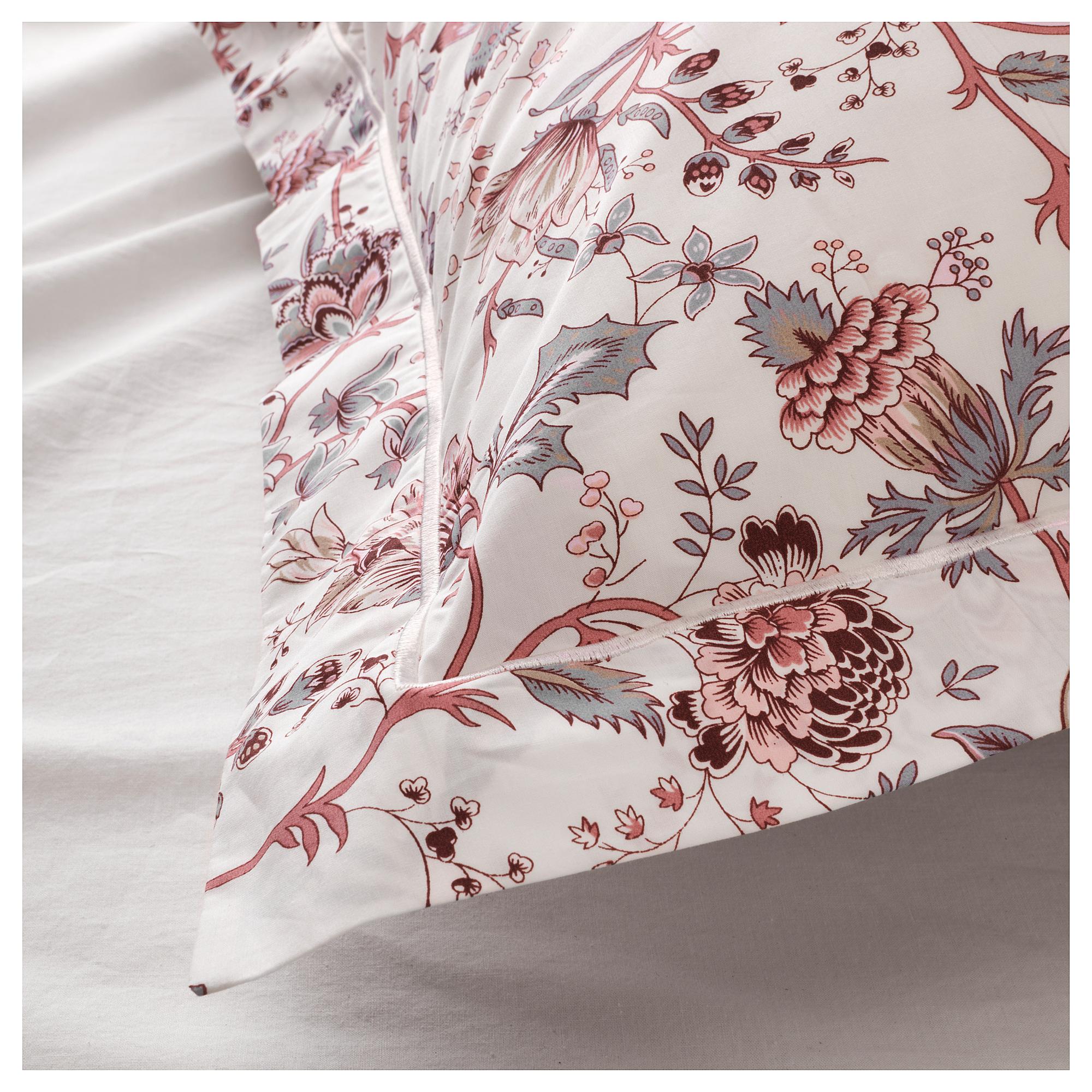 Ikea Sprangort Duvet Cover And Pillowcase S White Pink