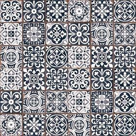 Textures Texture Seamless Patchwork Tile Texture Seamless 16605