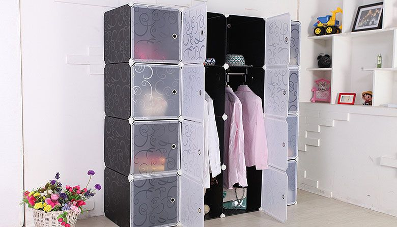 Modular Storage Cabinet Wardrobe - 12 ($69) & Modular Storage Cabinet Wardrobe - 12 ($69) | home decor | Pinterest ...
