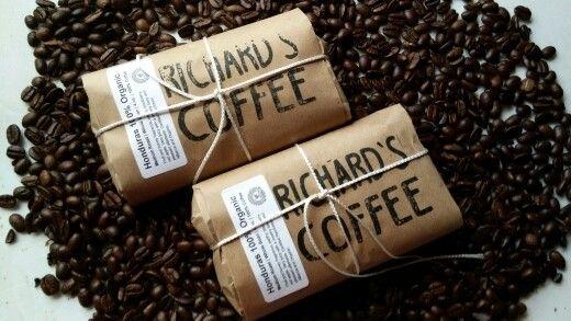 Love coffee ...made hand  coffee..freshhh delicious honduran Www.richardscoffee.com