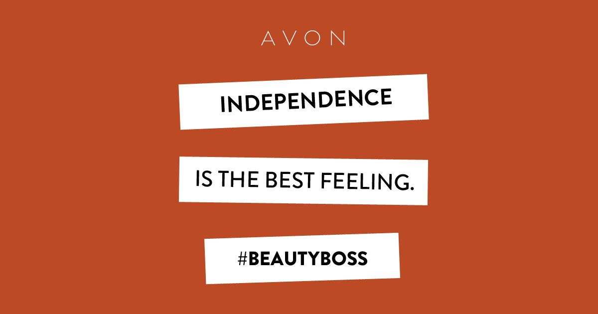 Providing for yourself is the essence of being an Avon #BeautyBoss. Join me! #AvonRep http://production.socialmediacenter.avonsocialtools.com/share?m=165&p=23286435fc0045b94409489f6cac45b9&s=rep&srct=share&srci=7331