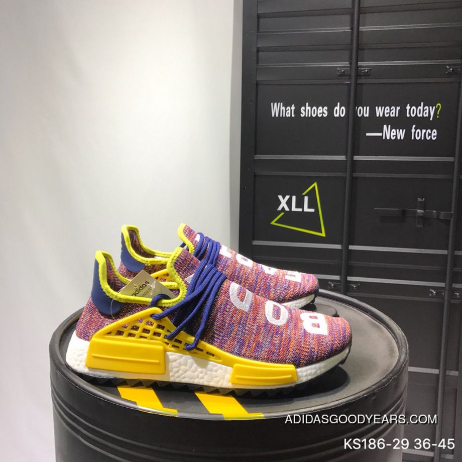 73a065f13a9b Adidas PW X CC Hu NMD Phareel Williams Human Running Shoes KS186-29 Online