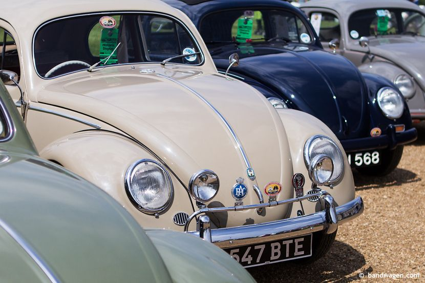 Oval VW Beetle, Historic VW Club Display, Stanford Hall 2014