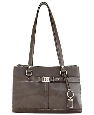 My Other Recent Purchase Another New Handbag This One Is A Giani Bernini And It S Grey Leather Was Also On At Macy