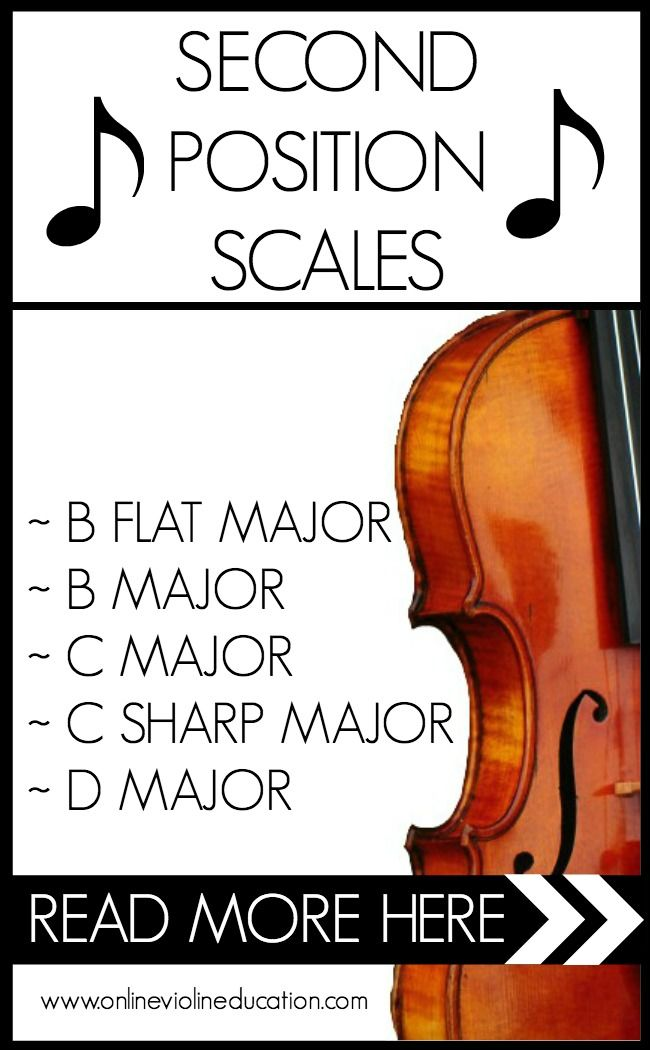 HOW MANY SCALES CAN BE PLAYED IN SECOND POSITION? | Online