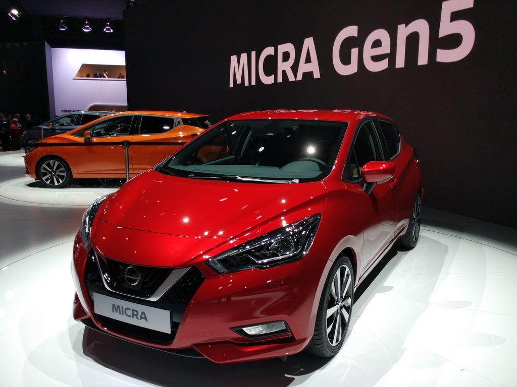 Парижский автосалон 2016. Новый Nissan Micra кардинально