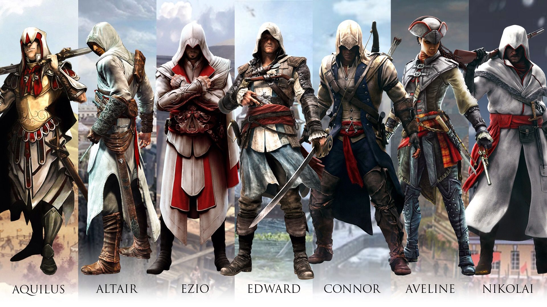 Assassin Creed Characters Assassins Creed Series Assassin S