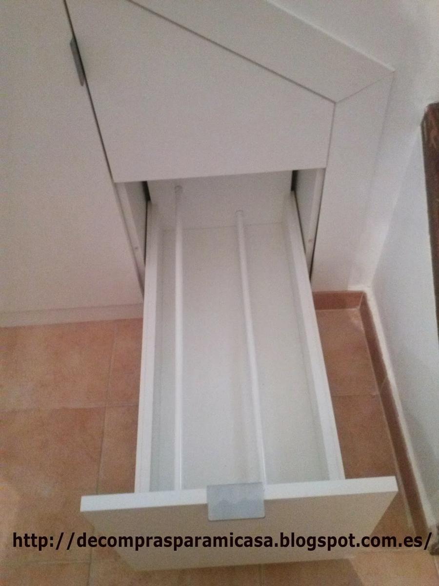 Ideas para aprovechar el espacio bajo la escalera bajo for Zapatero bajo escalera