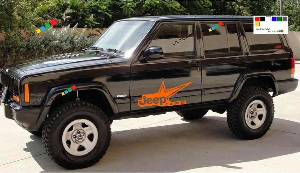 Decal Sticker Ki For Jeep Cherokee Switch Military Door Mirror