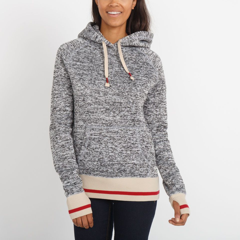 1c972a2ff0c Womens Angie Roots Cabin Hoody blizzard colour mix