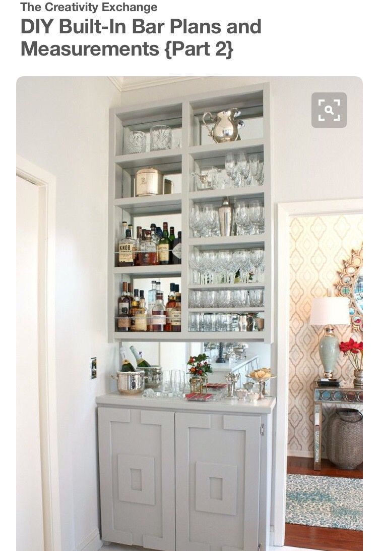 Built In Drink Cabinet Home Bar Rooms Modern Home Bar Home Bar Designs