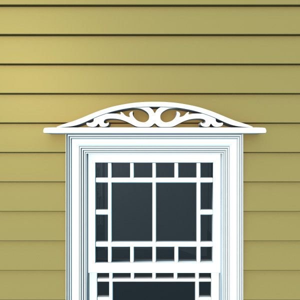 3d Model Decorative Window Header Window Decor Windows Exterior