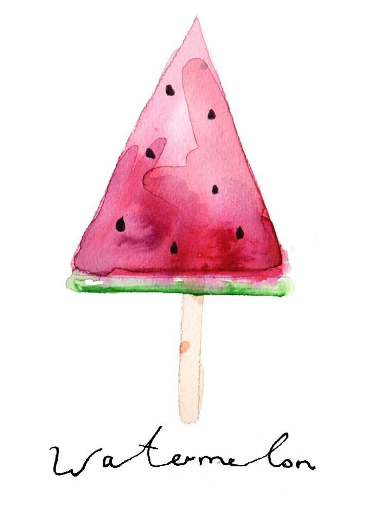 Eis Und Kinder Keine Gute Idee Art Aquarell Malen Malen