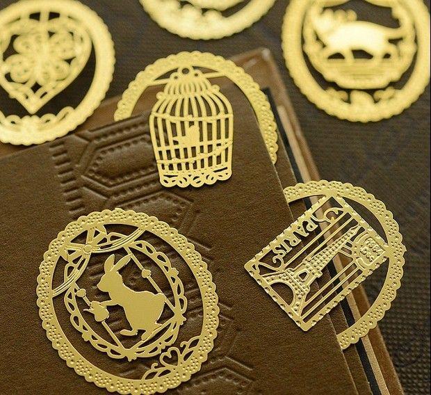 Souvenirs Bookmark Metal Tassel Bookmarks Reading Marking Crown Bookmarks